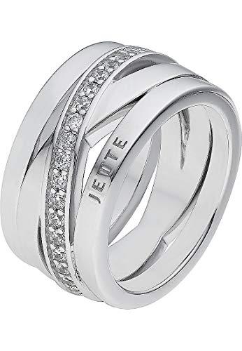JETTE Silver Damen-Damenring 925er Silber 57 Silber 32003932