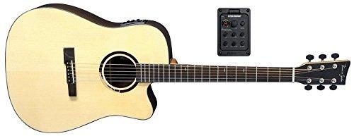 Electro Chitarre Acustiche VGS R 10Questo Rosa Folk Electro