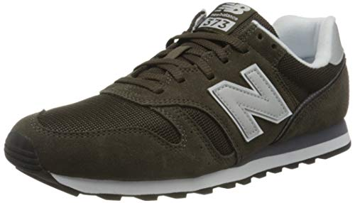 New Balance Herren ML373 Sneaker, Grün (Green/White Cb2), 44 EU