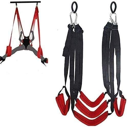 Sê&x Swing Couple-Swivel Swings for Indoor Games - Support 360 Degree Spinning - Height Adjustable