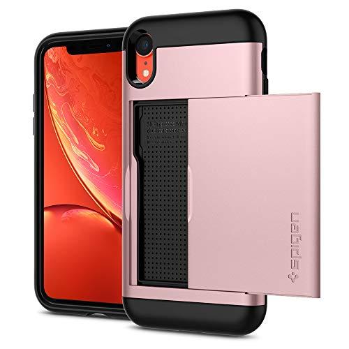【Spigen】 iPhone XR ケース 6.1インチ 対応 ICカード収納 耐衝撃 MIL規格…
