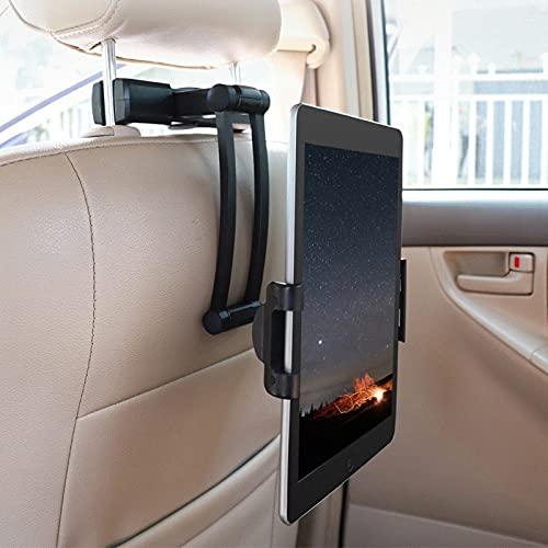 Raguso Soporte Universal para teléfono móvil Soporte Perezoso para Ver un espectáculo para teléfono Celular para Tableta móvil para Asiento Trasero de automóvil