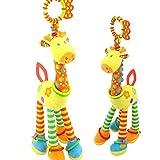 RetroFun - Sonajero para cochecito de bebé, juguete educativo para niños y...