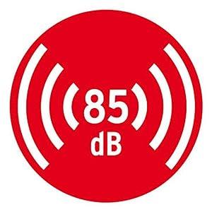 Brennenstuhl Rauchmelder RM C 9010 mit austauschbarer Batterie (geprüft nach EN 14604, durchdringendes Alarmsignal) weiß