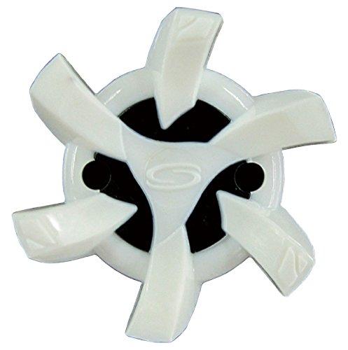 ライト(LITE) ステルスタロン (PINS) スパイク鋲 18個入 S-543 ホワイト×ブラック (280)