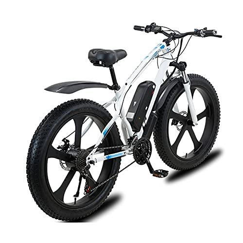 YLKCU Bicicletta elettrica da Mountain Bike 26' E-MTB Bicicletta 1000W con Batteria agli ioni di Litio Rimovibile 48V 13A per Adulti, 21 Marce, Freni a Doppio Disco