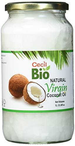 Cecil Bio - Aceite de coco virgen natural, 1000 ml
