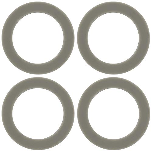 4 Pack O-ring Gasket Blenders Seal, 66mm/2.6inch Rubber Sealing Replacement Part for Black  New Jersey