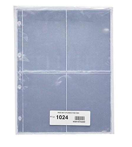 Pardo 102400 - Pack de 10 fundas verticales para colección
