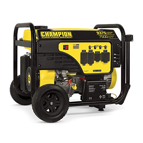 Champion Power Equipment 100813 9375/7500-Watt Portable Generator with Electric Start