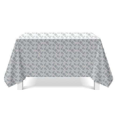 DREAMING-Leinwand Textur Kunst Tischdecke Haushalt Tischdecke Tv-Schrank Teetischdecke Runder Tisch Tischset 140cm * 200cm