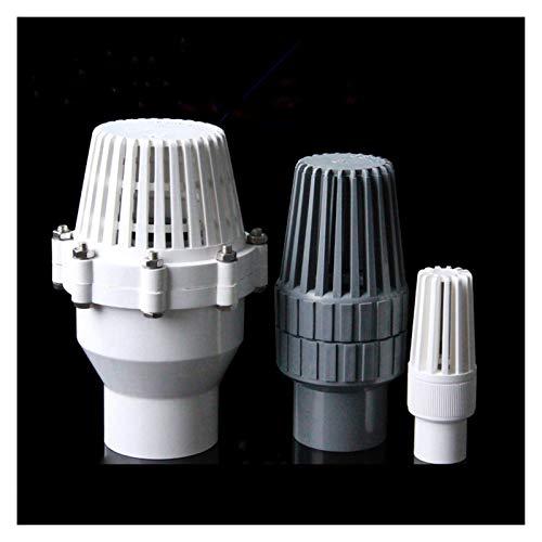 LXH-SH Das elektromagnetische Ventil 32mm 40mm 50mm 63mm Kolbenboden Rückschlagventil Wasserpumpe Wassereintritt Auslass Kunststoff PVC Filter Aquarium Fittings Industriebedarf