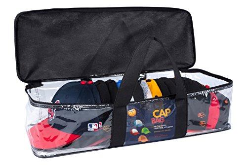 CAP BUDDY Cap Bag KAPPENAUFBEWAHRUNG Die Cap Halterung hält bis zu 20 Baseballkappen Snapback Trucker Basecap Halter für Schrank oder Regal