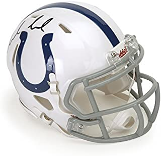 Andrew Luck Autographed Indianapolis Colts Speed Mini Helmet ~Open Edition Item~ Panini Authentic