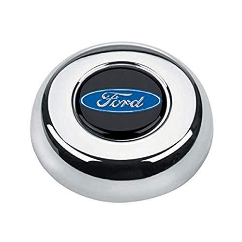 Grant 5685 Chrome Horn Button (Ford Blue Oval)