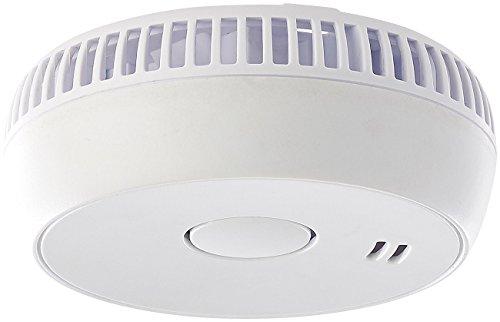VisorTech Optische Rauchwarnmelder: Fotoelektrischer Rauchwarnmelder RWM-100 V2, geprüft nach EN 14604 (Photoelektrischer Rauchmelder)