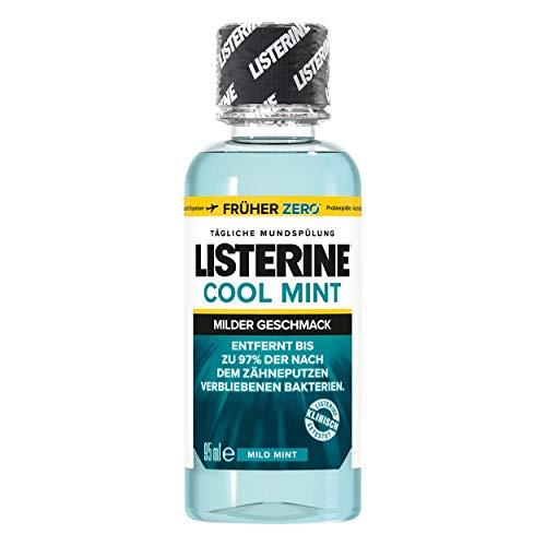 Listerine Cool Mint milder Geschmack Mundspülung 95ml, 5er Pack (5x 95ml)