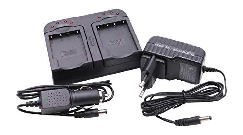 2m USB Cavo di alimentazione caricabatterie nero per Kodak Pocket zi8 HD 1080p Videocamera