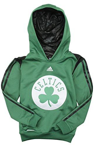 adidas Boston Celtics NBA Big Boys On Court Sudadera con capucha - Verde, 50, Verde