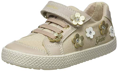Geox Baby Mädchen B Kilwi Girl A Sneaker, Beige (Beige C5000), 25 EU