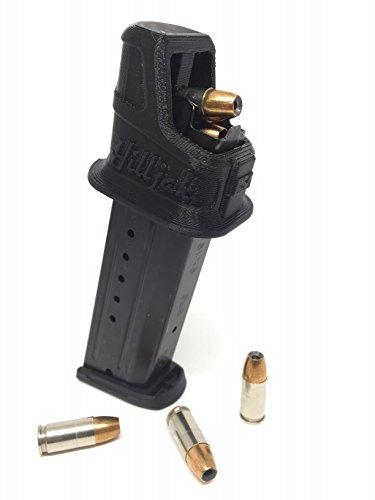 Hilljak Ruger Security 9, SR9, SR9C, 9E Double Stack 9MM Magazine Loader (Black) 1.0