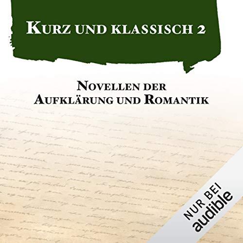 Novellen der Aufklärung und Romantik cover art