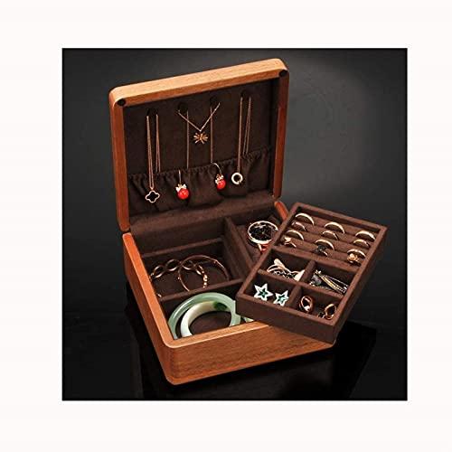 WHXL Caja de joyería Damas Joyería Joyería Hogar Joyería Pulsera Reloj Collar Caja Caja Joyería Joyería Joyería