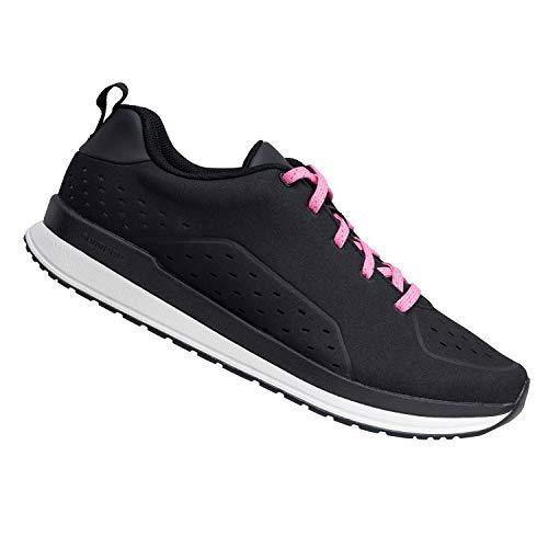 SHIMANO CT500W Everyday Cycling Shoe, Black, 37