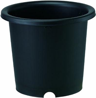 大和プラスチック 菊鉢 10号 φ320×H270 ブラック(つや消し)
