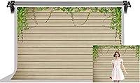 HiYash 9x6ft 木製の背景ビニール素材写真の背景茶色の木製の写真の背景ベビーシャワーの誕生日木製の背景写真スタジオ写真スタジオの小道具リアルな色