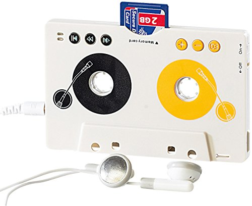 auvisio MP3 Player Kassette: MP3-Player für Kassettenautoradio, Kassettenadapter mit Fernbedienung (Adapter Kassette)