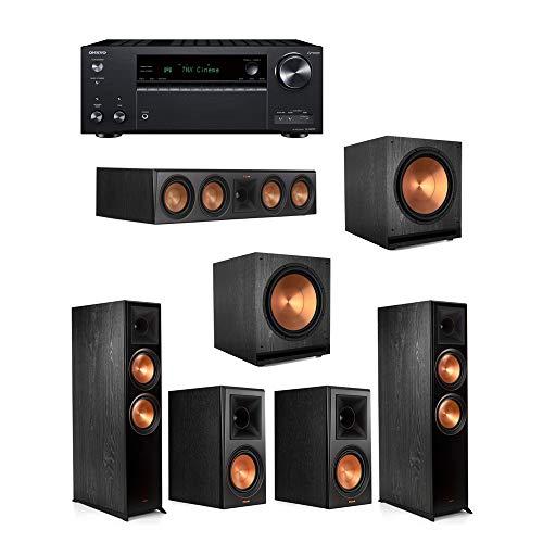 Best Review Of Klipsch5.2.2 Ebony System - 2 RP-8060FA,1 RP-504C,2 RP-600M,2 SPL-150,1 TX-NR797 Re...
