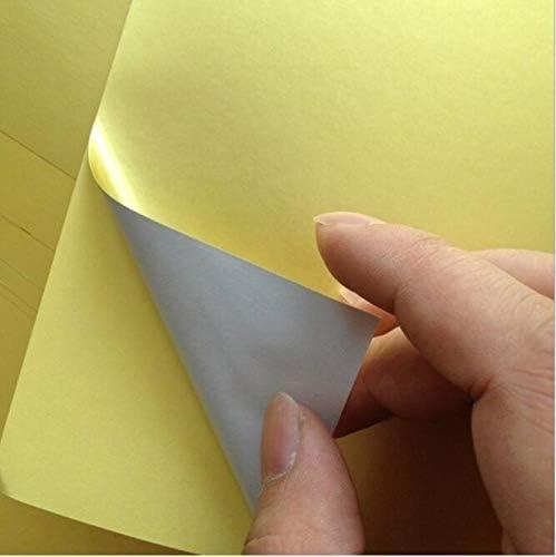 50 sheets Luxury A4 21cm x 29cm Go Bright Self-adhesive sheet Dallas Mall Sticker