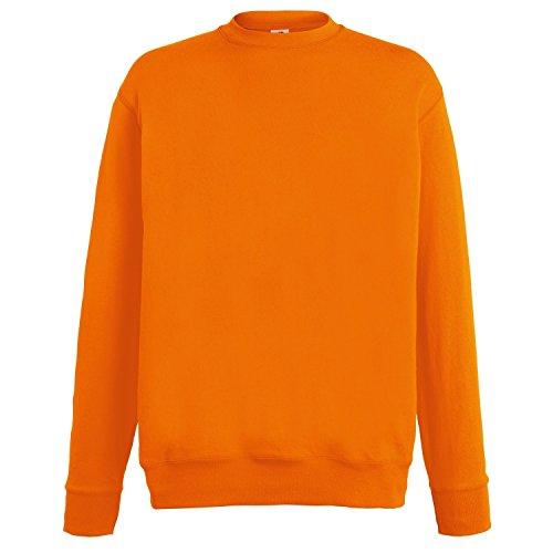 Fruit of the Loom Herren Sweatshirt (XL) (Orange)