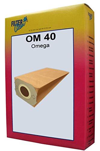 FilterClean OM 40 Staubsaugerbeutel, Braun