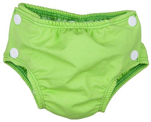Popolini badewindel KonfUK Culotte Green Vert S (Small) 3–9 kg