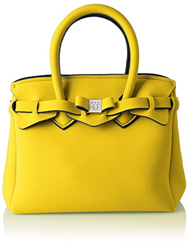 save my bag Women's 10104N-LY-TU Top-Handle Bag Yellow Yellow (RABAT RAB)