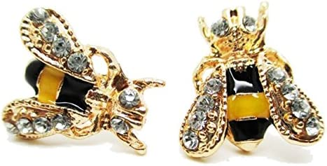 Bumble Bee Stud Post Earrings New Pair product image