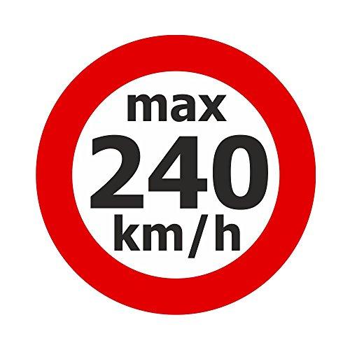 Adhesivo de velocidad máx. 240 km/h, 200 unidades.