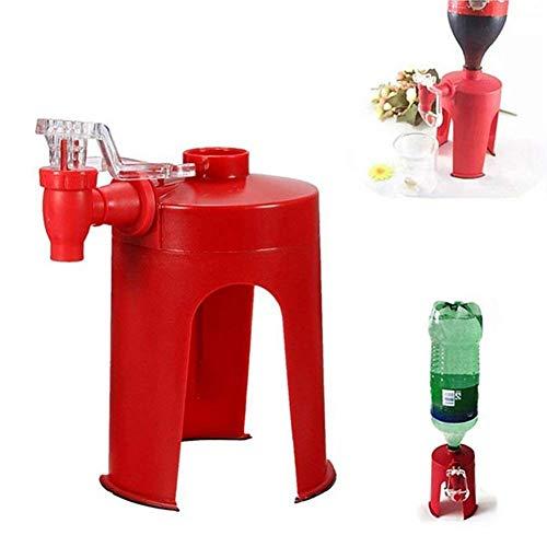 HINTER - Distributeur d'eau à Pression Manuelle - Mini Distributeur de Soda à l'envers - Fontaine à Boire - Interrupteur de Boisson Automatique pour Cuisine, Bar, Maison, fête, etc.