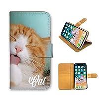 全機種対応 手帳型 スマホケース iPhone 12 ケース 定番 デザイン 子猫 猫 ネコ cat 写真 フォト 手書き かわいい