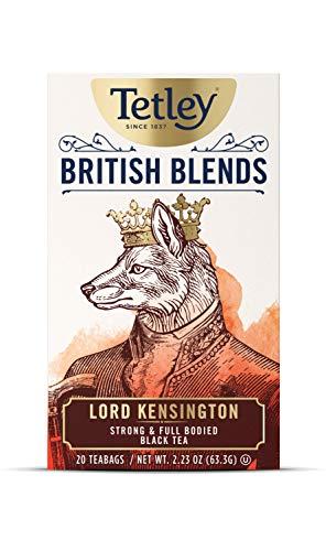 Tetley British Blends, Lord Kensington, Strong & Full Bodied Black Tea, 20 Count Tea Bags
