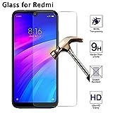 Wwjwf Película Protectora del Teléfono, para Xiaomi Redmi Note 8T 8 7 6 Pro 5A 4 3, Protectores De Pantalla del Teléfono