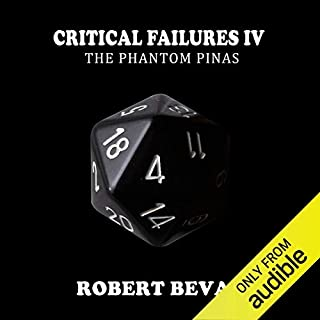 Page de couverture de Critical Failures IV: The Phantom Pinas