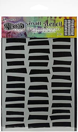"Dyan Reaveley's Dylusions Stencils 5""X8""-Shutters"