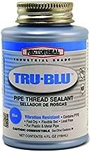 Rectorseal 31631 1/4 Pint Brush Top Tru-BluPipe Thread Sealant