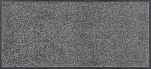 wash+dry Tapis en Polyamide Gris 30 x 75 cm