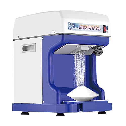 Rasoio per ghiaccio commerciale, macchina per la produzione di cono da neve elettrico per tritaghiaccio a spessore regolabile per ristorante di pesce Bar Cafe 1400 giri/min