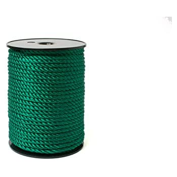 Aqua 1//8-3MM Twsited Cord 24//2