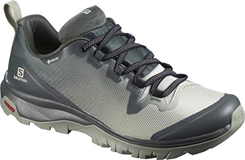 Salomon Damen Sneakers Vaya GTX Wanderschuhe, Mehrfarbig (City Neat/Mineral Grey/Shadow), 37 1/3 EU thumbnail